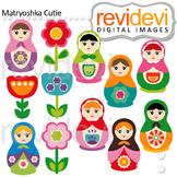 Clip art Russian nesting dolls - Matryoshka Clipart
