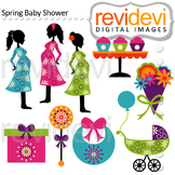 Clip art Spring Baby Shower