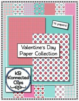 Clip art - Valentine Papers