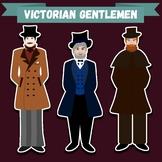 """Clip-art """"Victorian Gentlemen"""""""
