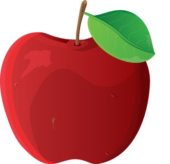 Clip art, apple, high resolution/quality