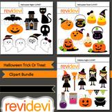 Clip art bundle for Halloween activities / Trick or Treat