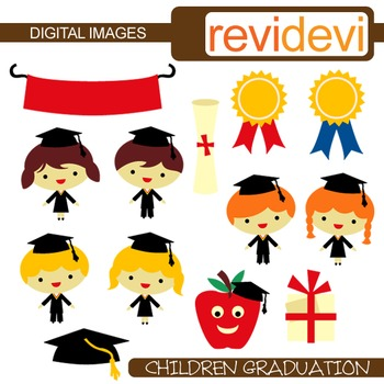 Clip art children graduation (graduate students clipart) 07304