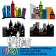 Clip art commercial - Superhero clipart - Surprise Me Bundle