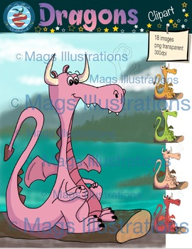 Clip art dragon, magic, tale, fantasy, storytelling, dragon illustration