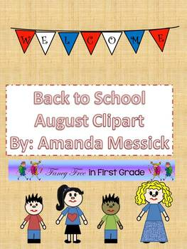 Clip art for August