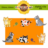 Clip art for Teachers and Personal Projects - Kittens, Kittens!