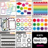 Clip art resource for teacher seller - clipart bundle (rai