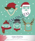 Clip art set - Christmas clip art - Holiday clip art
