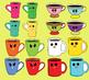 """Clip-art set """"Cups"""""""