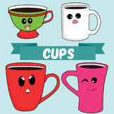 "Clip-art set ""Cups"""