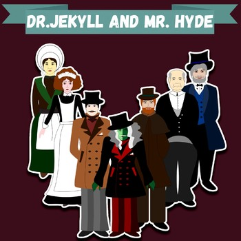 "Clip-art ""Dr. Jekyll and Mr. Hyde"""