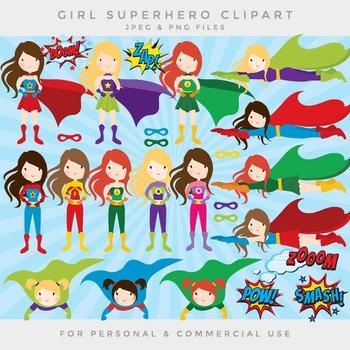 Clip art superhero - girl superhero clipart female superheroes clip art