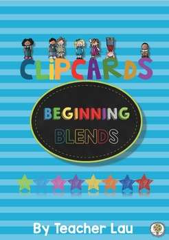 Clip cards beginning blending