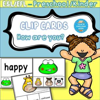 Clip cards emotions