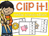 Clip it! Medial Sounds