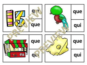 Clip it Spanish Initial Syllables