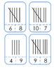 Clip-on tally cards