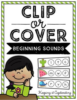 Clip or Cover {Beginning Sounds}