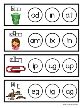 Clip or Cover {Word Families}