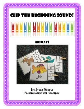 Clip the Beginning Sound!