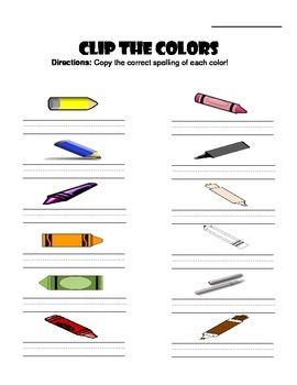 Clip the Colors