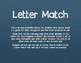 Clip the Letter Match