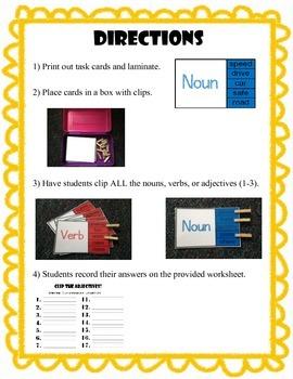 Clip the Noun, Verb, and Adjective!