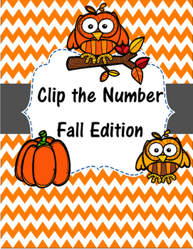 Clip the Number Fall Edition