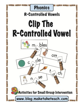 Clip the R-Controlled Vowel