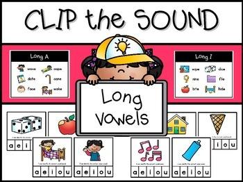 Clip the Sound Long Vowels