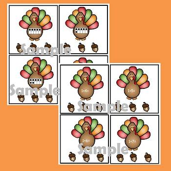 Dollar Deals: Math Task Cards for Thanksgiving