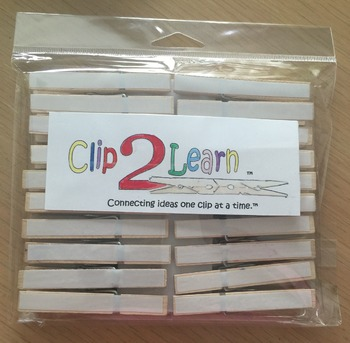Clothespin - Dry Erase (Hard Good)
