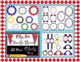 ClipArt ChuckleBerry's 33 Piece Clock Pack