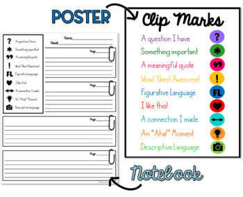 Reading Annotation - Clip Mark Flags, Anotation Log & Bookmarks