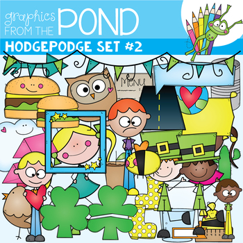 Hodgepodge Clipart Set #2