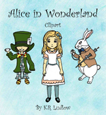Clipart - Alice's Adventures in Wonderland