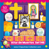 Clipart Altar de Muertos, Altar for the Dead Set 146