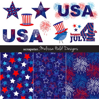 Clipart: July 4th Clip Art