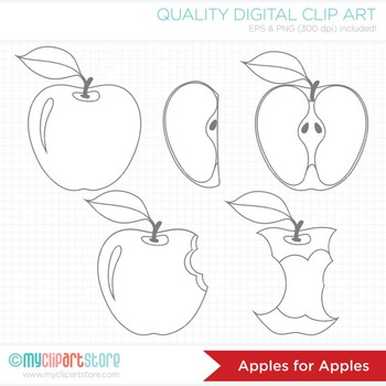 Clipart - Apples for Apples
