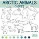 Arctic animals Clipart {winter}