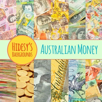 Australian Money Photos Background Clip Art Pack for Commercial Use