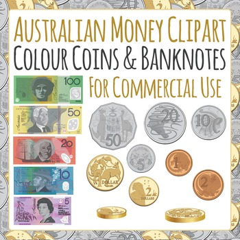 Australian Money Coins and Banknotes for Commercial Use