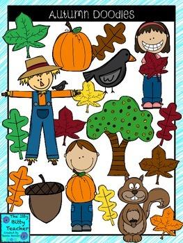 Clipart - Autumn Doodles