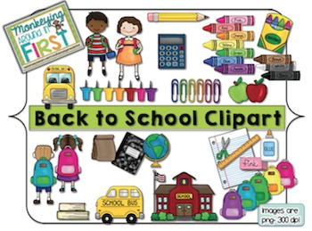 Back to School Clipart {August/September}