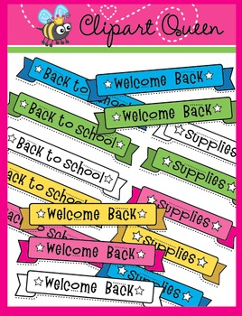 Clipart: Back to School Banners