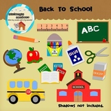 Clipart: Back to School - Elementary - Pre-k - Kindergarten