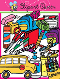 Clipart: Back to School Supplies