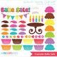 Clipart - Bake Sale (Cupcakes) / Cooking and Baking