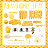 Honey Bee Clip Art Pack for Commercial Use